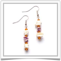 "One-of-a-Kind ""Mexico"" Earrings - Designed by Belle Bijou:  http://www.bellebijoujewelry.com/store/detail/index.html#cid=38103"