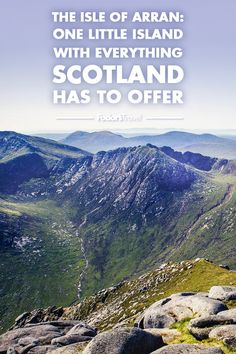 The Isle of Arran is a one-stop-shop for everything on your Scotland bucket list and ticks every box for your dream holiday. Places In Scotland, Scotland Travel, Scotland Hiking, Scotland Trip, Seoraksan National Park, Isle Of Arran, Scottish Castles, Little Island, Rock Pools