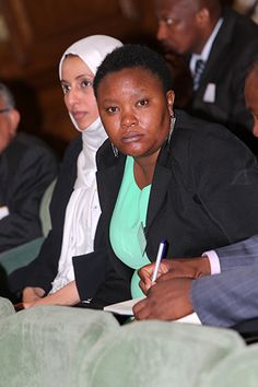 Delegate at the Mining On Top Africa Summit-London. Source:http://www.miningontop.com/africa/2013