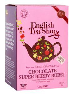 Super Chás | Comprar Explosão de Chocolate e Bagas na Loja de Chás - Imporchá®