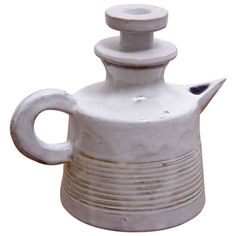 French Pot Pitcher by Les Argonautes | From a unique collection of antique and modern ceramics at http://www.1stdibs.com/furniture/dining-entertaining/ceramics/