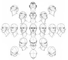 http://jeffsearle.blogspot.ru/2015/09/drawing-head-from-different-angles.html