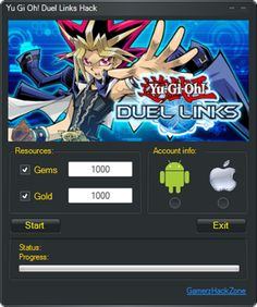 Yu Gi Oh Duel Links Hack  Get Free Gems