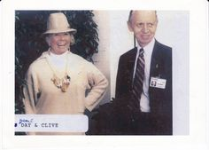 with DORIS DAY at her hotel (the Cypress Inn, Carmel).
