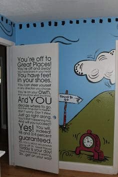 Dr. Seuss Baby… i think   im decorating my kids room like this when we move to our new home.