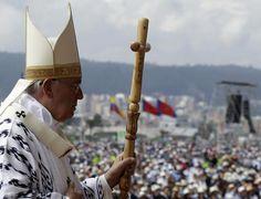 El regalo de los artesanos ecuatorianos al Papa - Yahoo Noticias