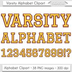 Varsity Alphabet Clipart Yellow Letters Clipart Varsity Letters Clipart Yellow Alphabet Clipart University Alphabet Clipart by skaior #varsity #clipart #alphabet #yellow #university