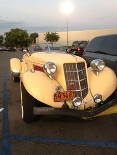 1936 Auburn Roadster... Another of Nicks passions... sent by @Jeannie Sigafoos