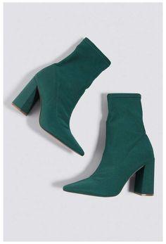 Kd Shoes, Sock Shoes, Cute Shoes, Me Too Shoes, Shoe Boots, Shoes Heels, Green Socks, Green Heels, Fashion Heels