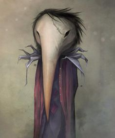 Horus - Afterland character by Chris Powell & Elin Jonsson for Imaginary Games #Afterland #ImaginaryGames #ElinJonsson #ChrisPowell
