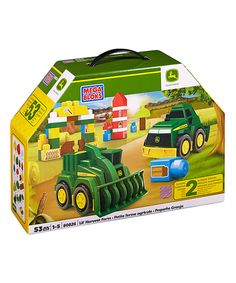 Look at this John Deere Lil' Harvest Farm Set on #zulily today!
