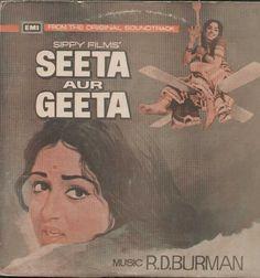 Seeta Aur Geeta 1970 Bollywood Vinyl LP