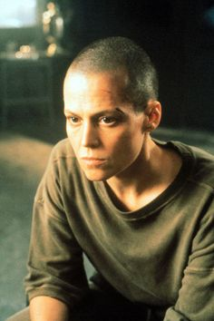 Sigourney Weaver in Alien 3 (1992) as Ripley