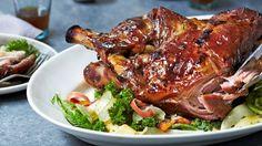 Slow-Roasted Glazed Pork Shoulder Recipe | Bon Appetit