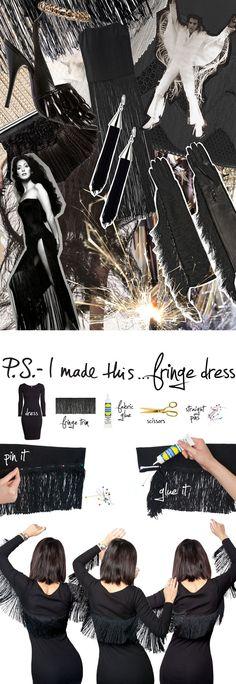 P.S.- I made this...Fringe Dress #PSIMADETHIS