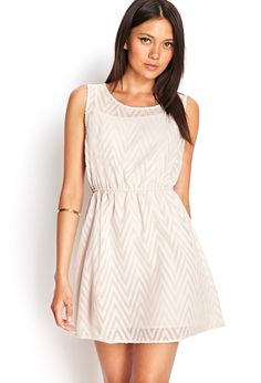 Embroidered Zigzag Dress | FOREVER21 - 2000069291