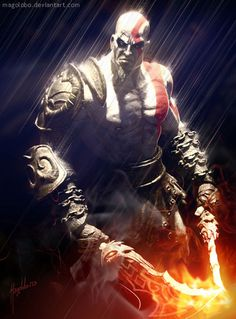 Kratos, God of War Gods Of War, God Of War Game, Kratos God Of War, God Of War Series, Tao, Infamous Second Son, Video Game Characters, Fantasy Characters, Video Game Art