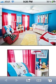 Delicieux Dr Seuss Nursery For A Boy