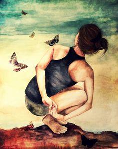 Namaste yoga meditación decoración arte grabado por claudiatremblay