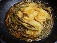 Foodie in Translation: Fagiolini di Sant'Anna al tonno - Snake beans with...