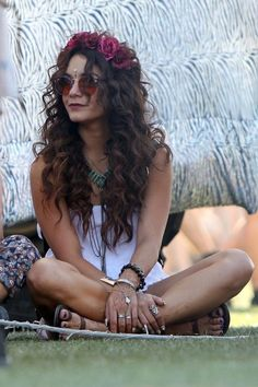 Vanessa Hudgens. LOVE her clothing style. Especially her Coachella outfits!