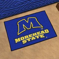 FANMATS NCAA Morehead State University Starter Doormat Mat Size  Rectangle  2 10