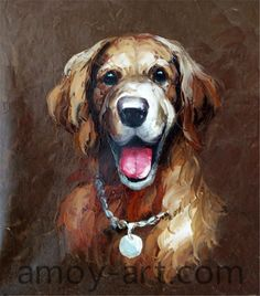 AA04DG001 (5)-Dog-China Oil Painting Wholesale | Portrait Oil Painting| Museum Quality Oil Painting Reproductions