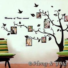 diy tree wall art