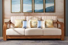 Latest Fabric Sofa Set Living Room Furniture Pictures of Wooden Sofa Designs - China Wood Sofa, Living Room Furniture Lobby Furniture, Furniture Upholstery, Dining Room Furniture, Furniture Making, Furniture Online, Wooden Furniture, Furniture Stores, Wooden Sofa Designs, Houses