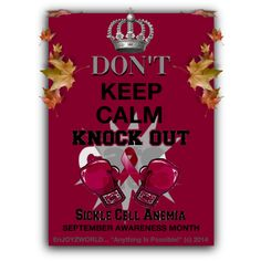 """""""SEPTEMBER SICKLE CELL AWARENESS MONTH!!!"""" by enjoyzworld on Polyvore"""