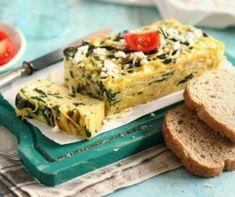 frittata receptek, cikkek | Mindmegette.hu Frittata, Feta, Spagetti, Yummy Food, Breakfast, Morning Coffee, Delicious Food, Omelette, Morning Breakfast