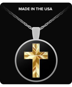 Golden Cross - Necklace