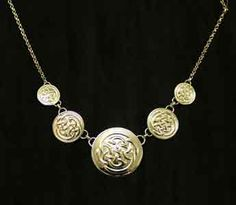 Celtic shield necklace in gold Celtic Shield, Handmade Jewellery, Gold Necklace, Jewelry, Fashion, Moda, Handmade Jewelry, Gold Pendant Necklace, Jewlery