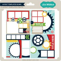 Snap Click Supply Co. - Layout Templates Gears, $6.99 (http://www.snapclicksupply.com/layout-templates-gears/)
