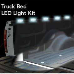 With the PlasmaGlow LED Truck Bed LED Lights Kit, you'll never be in the dark again. Includes everything you need, to light up the entire bed of your truck.