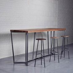 Steel Bar Table - Foter