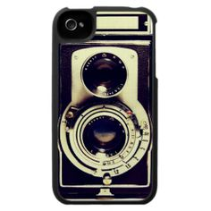 Vintage Camera Case For The iPhone 4. get it on : http://www.zazzle.com/vintage_camera_case_for_the_iphone_4-176424840645521306?rf=238054403704815742