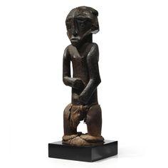 A superb and rare Boyo Male Ancestor Figure, Democratic Republic of the Congo | lot | Sotheby's