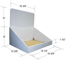 Model CD-8023 - $6.99 each + $6.45 printing cost / fits 3 wide, 8 deep (holds 24 jbs)