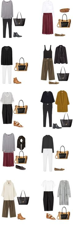 Teacher Capsule What to Wear Outfit Options 21-30 #capsule #capsulewardrobe…
