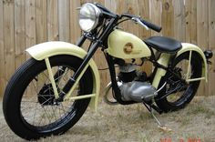 1957 Harley Davidson Hummer 125cc. Based on the German DKW RT125 whose technology went all over the world after WWII.