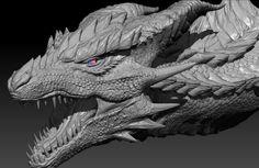 Dragon Ariade by Decadia on DeviantArt Fantasy Dragon, Fantasy Art, Fantasy Creatures, Mythical Creatures, Dragon Anatomy, Realistic Dragon, Dragon Silhouette, Dragon Series, Dragons
