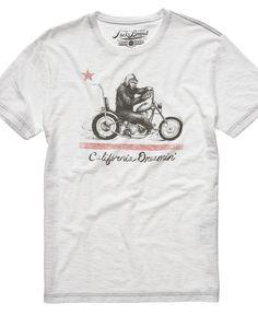 Lucky Brand T Shirt, Ca Dreamin Tee - Mens T-Shirts - Macy's