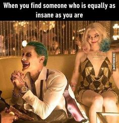 I need this! Tag your squad who does all the crazy things with you. #suicidesquad#Joker