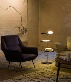 Aqui está representada uma iluminação muito subtil. Disponível na sua loja de decoração, a Stoc Casa.