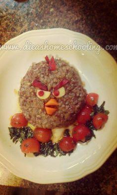 Funny Food Homeschooling Angry Birds