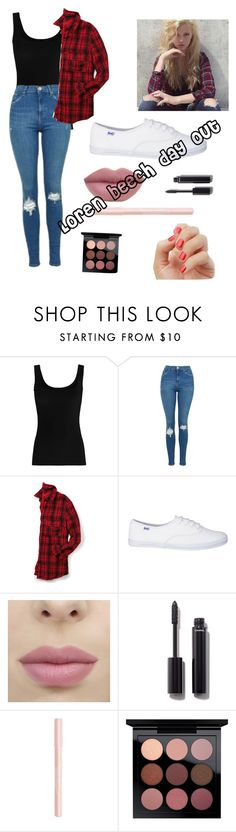 """Loren beech day out"" by pugsforever ❤ liked on Polyvore featuring Twenty, Topshop, maurices, Chanel, Bourjois and MAC Cosmetics"
