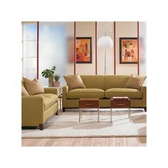 Found it at Wayfair - Martin Mini Mod Apartment Sofa and Loveseat