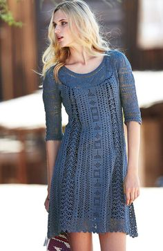 stylish and elegang crochet dress ideas for ladies (19)