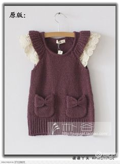 Knitted dress - Stylowi.pl